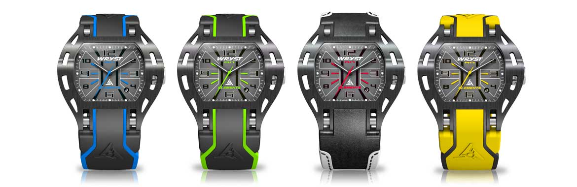 Black Designer Sports Watch